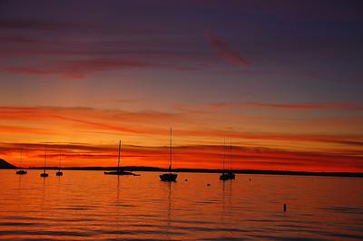 bellingham-bay-boats-sunset