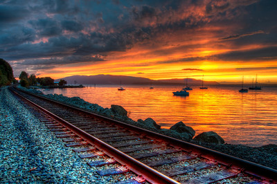 railroad-bay-sunset