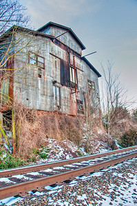 snowy-railroad-building