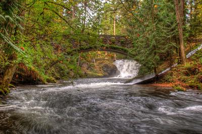 Fall on Whatcom Creek