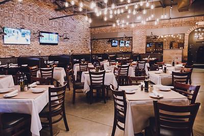 Bellini Restaurant Eureka, inside