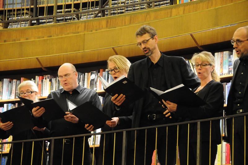 Bellman i juletid - Bellmanssällskapet på Stadsbiblioteket den 14 december 2016