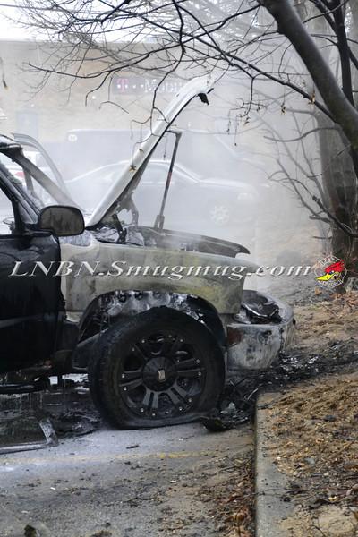 Bellmore F D Car Fire King Kullen 1-14-14--20