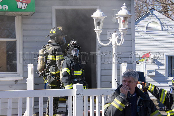 Bellmore F.D. Kitchen Fire 2028 Bellmore Avenue 2-20-17