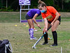 KRISTOPHER RADDER — BRATTLEBORO REFORMER<br /> Players on the Bellows Falls field hockey team practice different their skills on Thursday, Sept. 17, 2020.