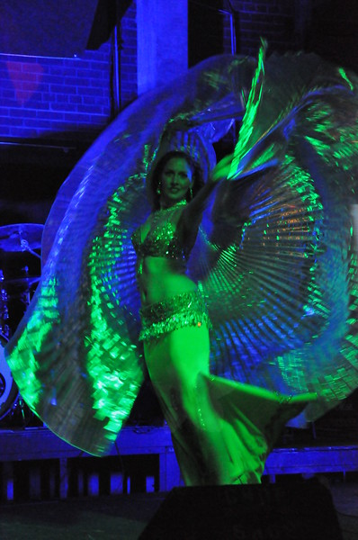 New Years Eve at the Chop Shop 2011-Belly Dance