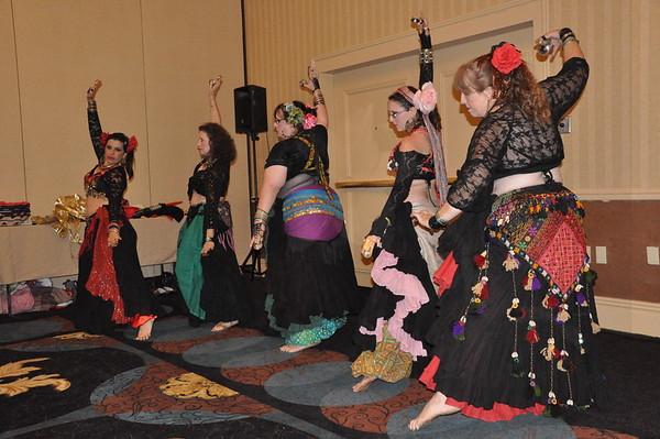 6-5-2010 Queens of D'Nile, Damhsa Gasra, and Kalima Tribal at ConCarolinas 2