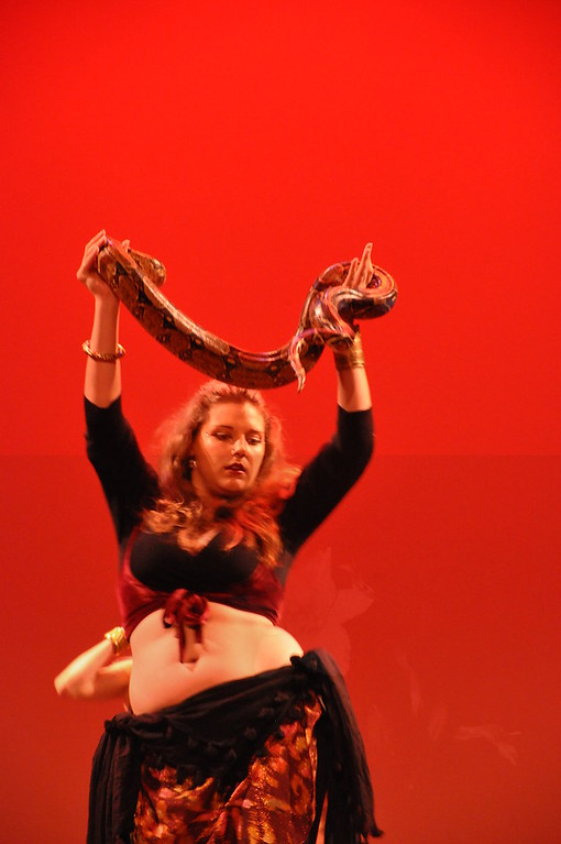 10-23-2010  Belly Dance Extravaganza-Snakes 2