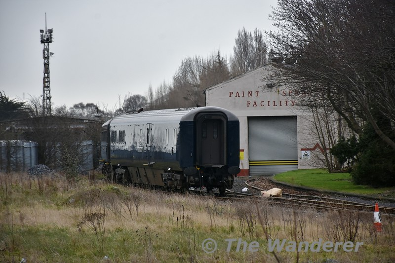 The Belmond Grand Hibernian set has now been made up for its 2018 season which begins on Tuesday 10th April 2018. Here we see the set at Inchicore. Sat 07.04.18