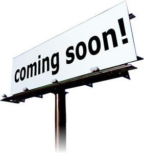 Coming soon!!