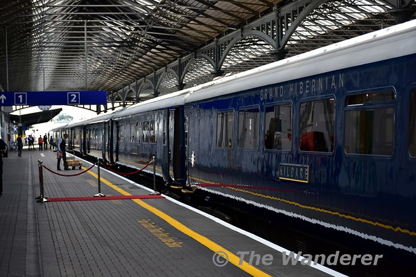 Belmond Grand Hibernian: Launch at Heuston Station