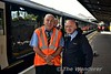Tony Cooke and Chris Playfair pose for the camera at Heuston. Tues 30.08.16