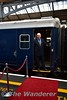 Guard Noel Enright poses beside the Belmond Grand Hibernian. Tues 30.08.16
