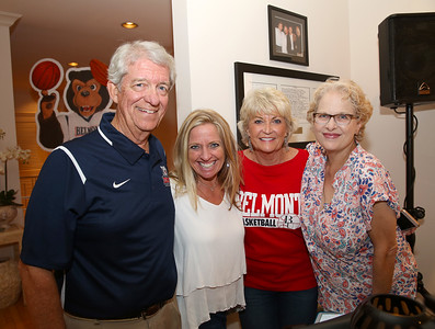 Belmont University's Men's Basketball Team party at Dick and Star Millers on August 24, 2017. Photos by Donn Jones Photography