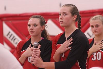 Belmont @ Highland Volleyball 9-10-18