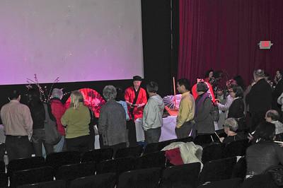 Suishi Reception Pre-Movie at Belmont Studio Cinema - 2012