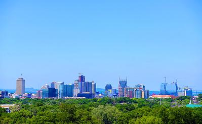 Nashville Skyline from Freeman Hall