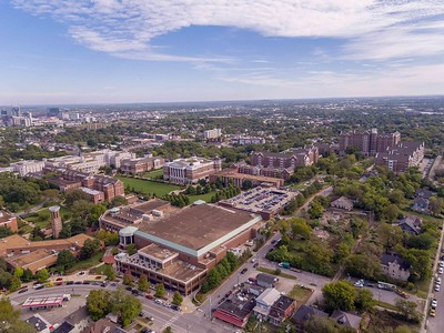 Aerial images of Belmont