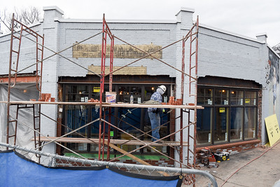 construction of bookstore