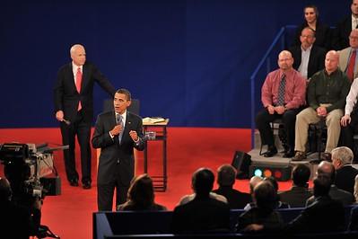 Debate 08, Belmont University John McCain and Barack Obama