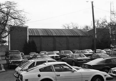 Parking lot, Historical