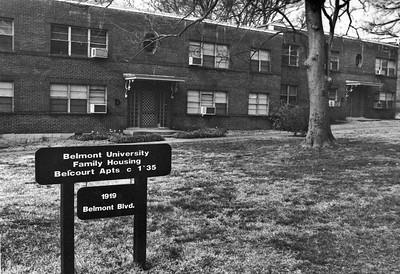 Housing, dorms, Historical  Belcourt apartments
