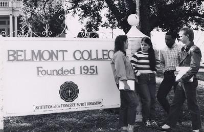 Historical Belmont sign