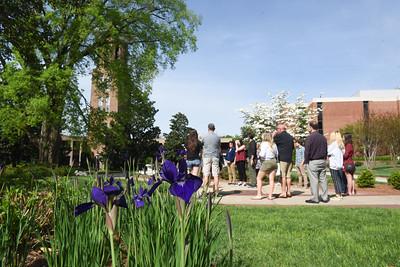 Admisions campus tour