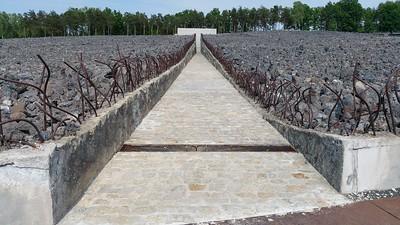 Belzeç concentration camp Poland 2015.