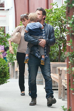 Ben Affleck, Jennifer Garner and kids