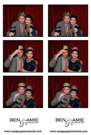 Ben & Amie Wedding 11.28.15