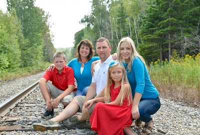 Ben and Amy Voisine Family Photo Shoot