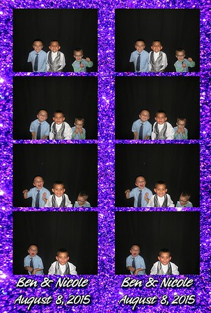 Ben and Nicole's Wedding 8-8-15