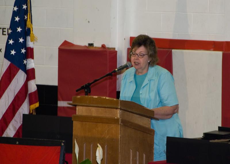 <b>Sarah Swiger's Speech</b>   (Jun 03, 2007, 02:36pm)