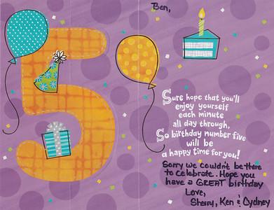 5th Birthday 6 2014