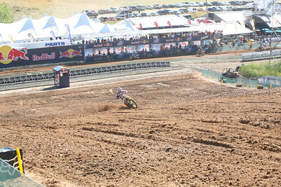 Dungey coming up the start straight