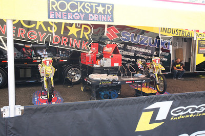 Ryan Dungey's bikes. Ever rider for team USA had two bikes in the stable.