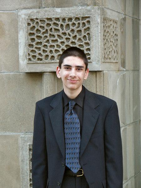 <b>Ben at middle school graduation</b>   (Jun 19, 2003, 07:26pm)