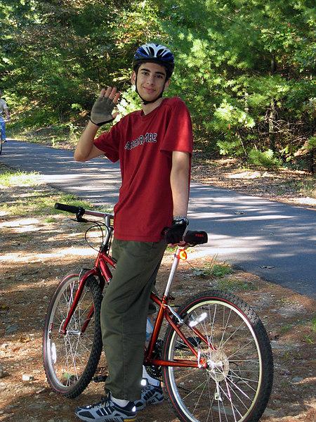<b>Ben returns to the Nashua River Trail</b>   (Sep 26, 2004, 03:43pm)