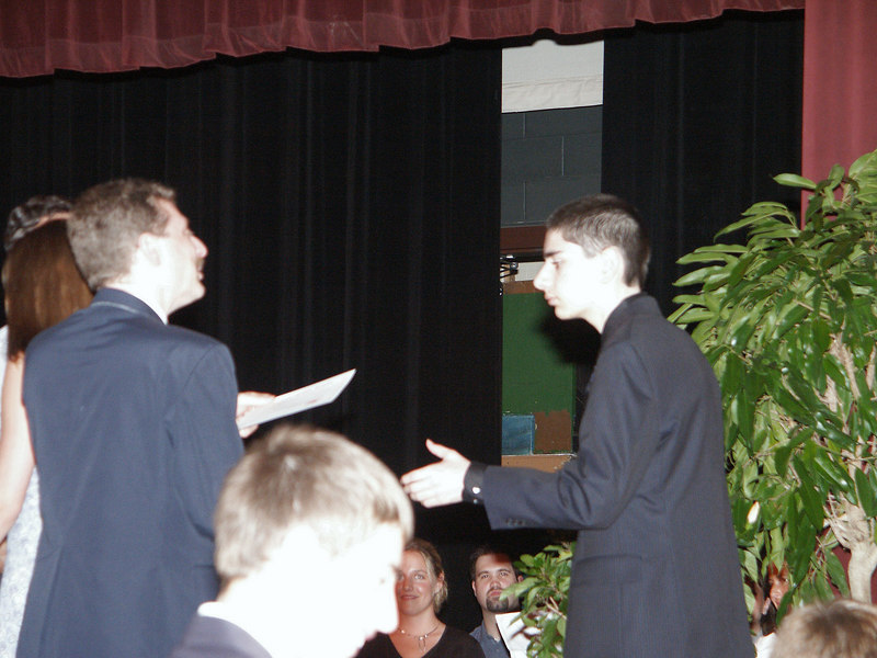 <b>Ben gets middle school diploma</b>   (Jun 19, 2003, 07:09pm)