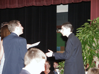 Ben gets middle school diploma   (Jun 19, 2003, 07:09pm)