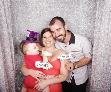 The Wedding of Ben & Jess Photobooth Photos