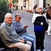 Cagliari, Sardinia, Italy .. Big Al..Frankie D..Linda & Pat