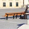 Valletta, Malta.. an empty bench.. almost