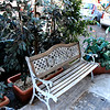 Palermo. Sicily.. a fancy bench