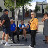 Puerto Rosario, Canay Islands.. Frankie D.. Big Al.. Ron..Pat.. Linda  & Barbara standing.. the whole Gang