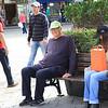 Big Al found a bench-friend
