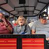 the local choo choo trolley train in Almeria, Spain