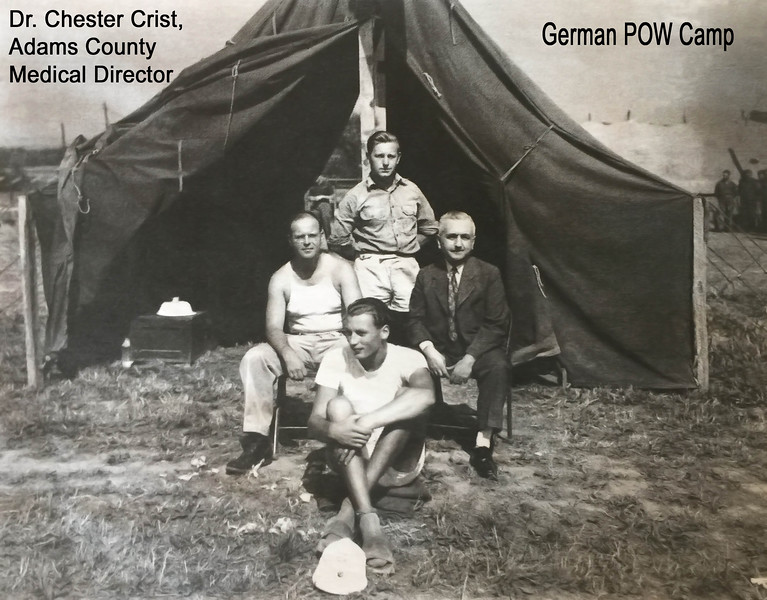 Dr  Chester Crist & POWs