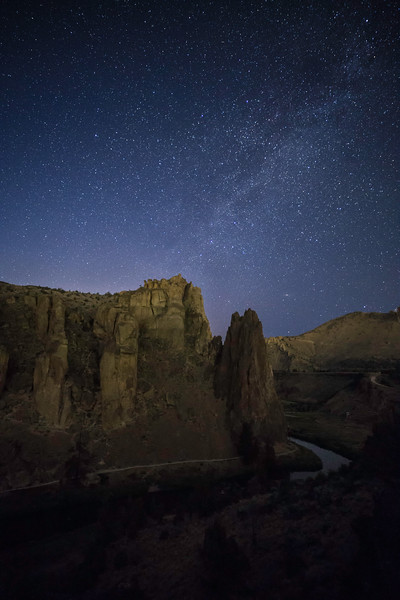 Stars Over Smith Rock State Park